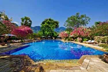 Hotel Matahari Beach Resort & Spa: Swimming Pool BALI