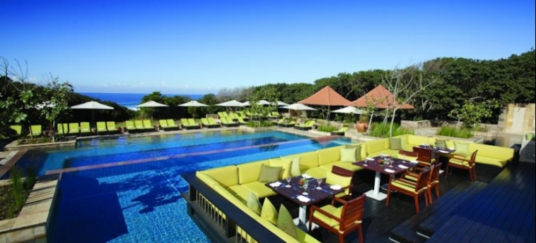 Hotel Fairmont Zimbali Resort: Patio BALLITO BAY