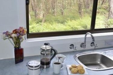Hotel Countrywide Cottages: Wandmalerei BAMBRA - VICTORIA
