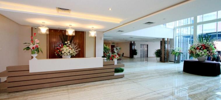 Pasar Baru Square Hotel: Check in /check out Kiosk BANDUNG
