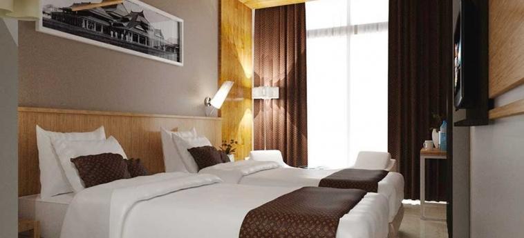 Pasar Baru Square Hotel: Gastzimmer Blick BANDUNG