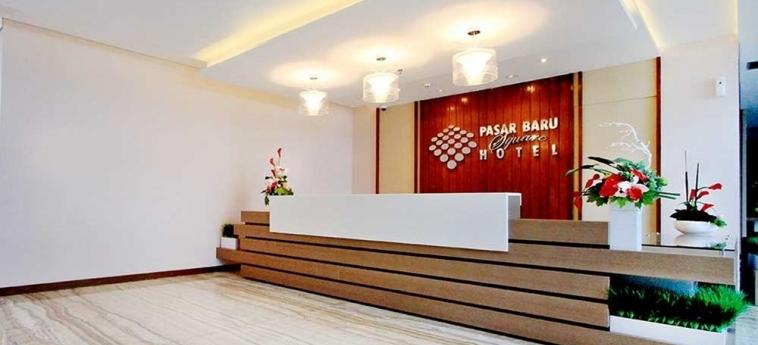 Pasar Baru Square Hotel: Reception BANDUNG