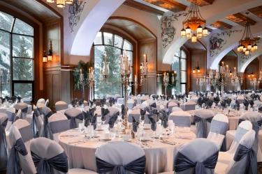 Hotel Fairmont Chateau Lake Louise: Ballroom BANFF