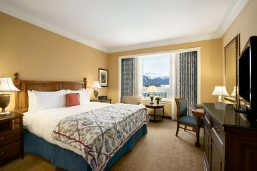Hotel Fairmont Chateau Lake Louise: Gastzimmer Blick BANFF
