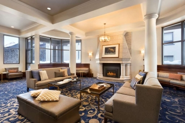 Hotel Fairmont Chateau Lake Louise: Lobby BANFF