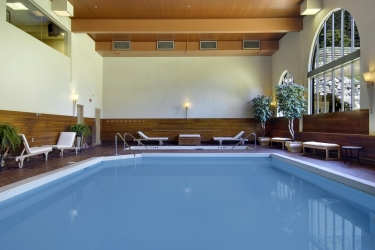 Hotel Fairmont Chateau Lake Louise: Schwimmbad BANFF
