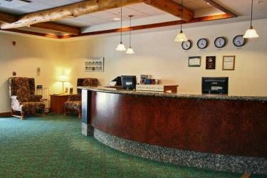 Hotel Canalta Lodge: Lobby BANFF