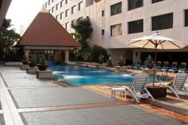 Hotel Twin Towers: Piscina Esterna BANGKOK