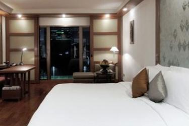 Hotel Sukhothai: Deluxe Zimmer BANGKOK