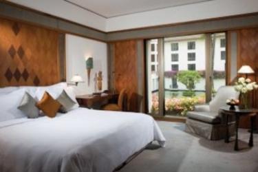 Hotel Sukhothai: Schlafzimmer BANGKOK