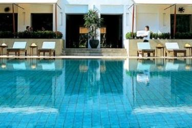 Hotel Sukhothai: Outdoor Swimmingpool BANGKOK