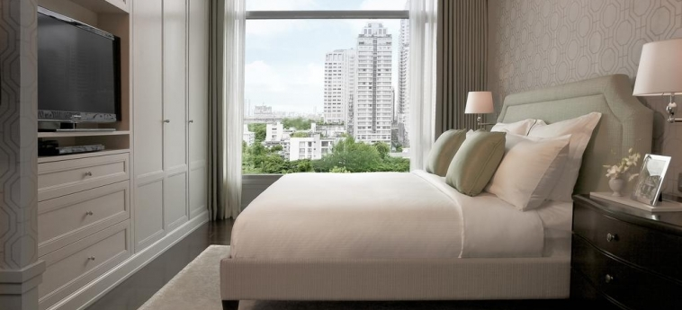 Hotel Oriental Residence Bangkok: Gastzimmer Blick BANGKOK