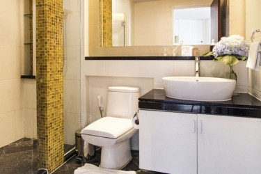 Hotel Urbana Langsuan Bangkok: Ducha del baño BANGKOK