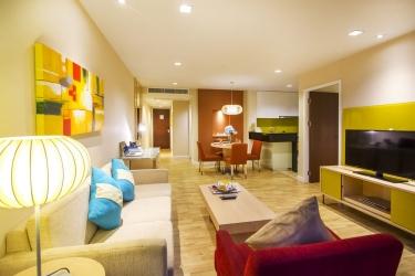 Hotel Urbana Langsuan Bangkok: Sala de estar BANGKOK