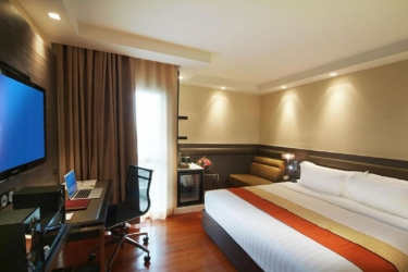 Amora Neoluxe Hotel: Gastzimmer Blick BANGKOK