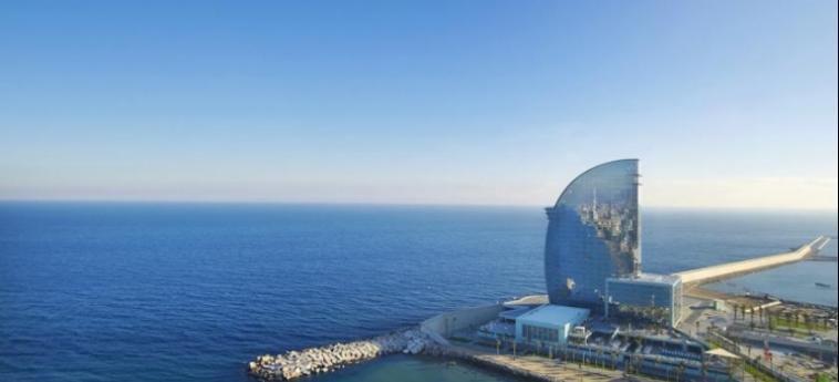 Hotel W Barcelona: Esterno BARCELLONA