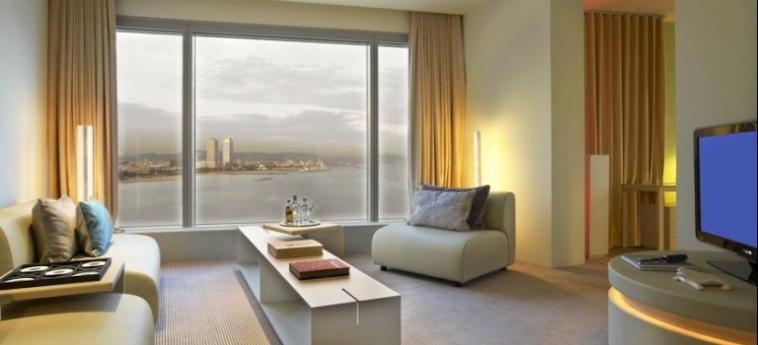 Hotel W Barcelona: Particolare della Camera BARCELLONA