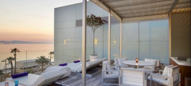 Hotel W Barcelona: Patio BARCELLONA