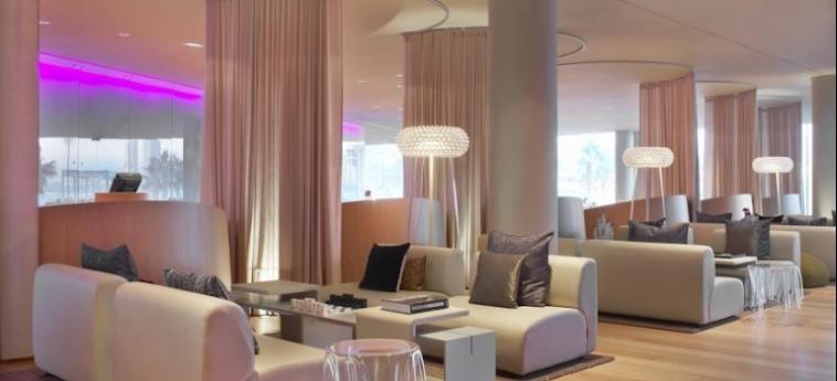 Hotel W Barcelona: Salotto BARCELLONA