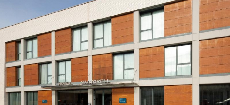 Hotel Ciutat Martorell: Außen BARCELONA