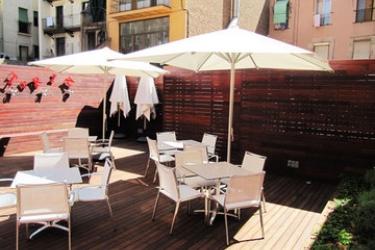 Hotel Turin: Terrasse BARCELONA
