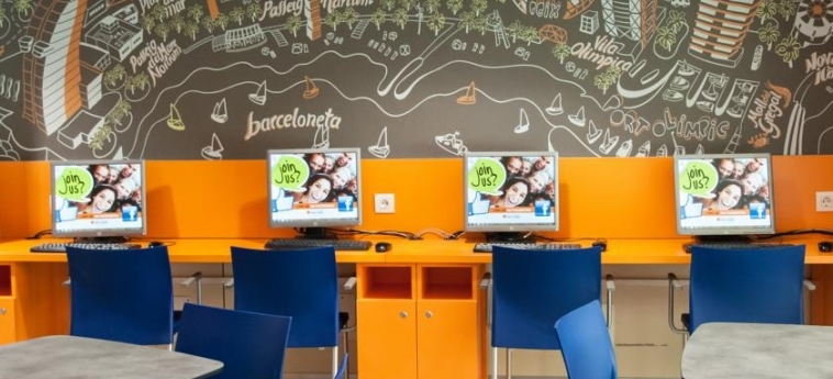 Youth Hostel Pere Tarres: Internet Point BARCELONA