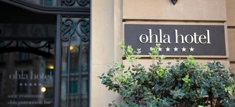 Hotel Ohla Barcelona: Entrance BARCELONA