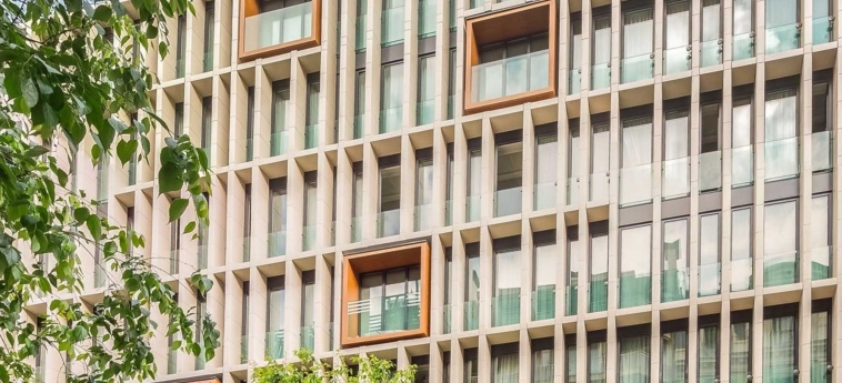 Hotel Ohla Barcelona: Facade BARCELONA