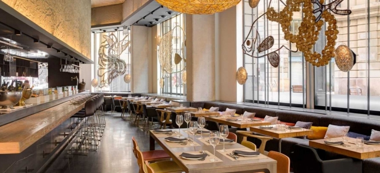 Hotel Ohla Barcelona: Restaurant BARCELONA