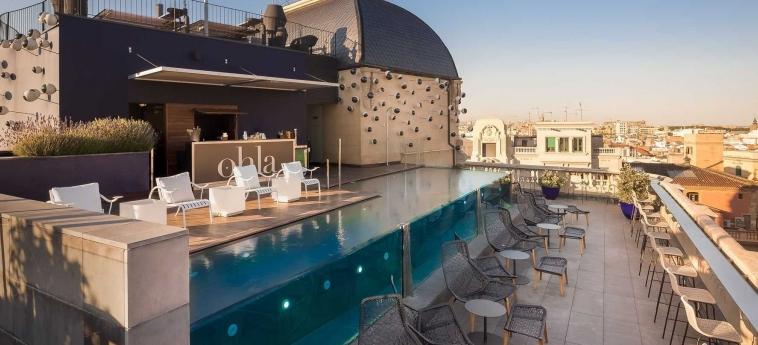 Hotel Ohla Barcelona: Terrace BARCELONA