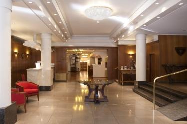 Hotel Nevada: Lobby BARILOCHE
