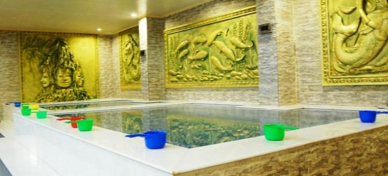 Classy Hotel & Spa: Detalle de l'Hotel BATTAMBANG