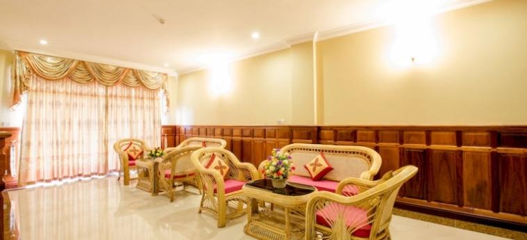 Classy Hotel & Spa: Dining Area BATTAMBANG