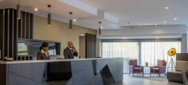 Maldron Hotel Belfast City: Bar Exterieur BELFAST