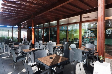 Hotel Palmasol: Terrazza BENALMADENA - COSTA DEL SOL