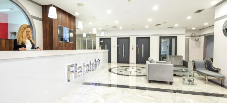 Hotel First Flatotel International: Lobby BENALMADENA - COSTA DEL SOL