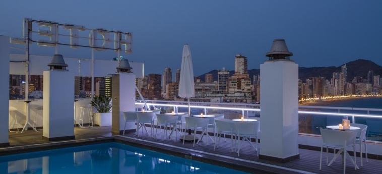 Hotel Centro Mar: Terrazza BENIDORM - COSTA BLANCA