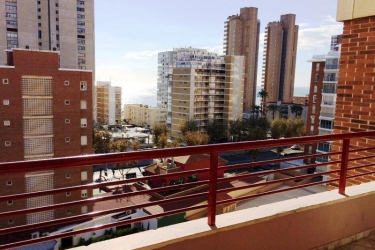 Hotel Apartamentos Carlos V: Terraza BENIDORM - COSTA BLANCA