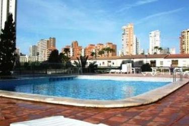 Hotel Apartamentos Luxmar: Piscina Exterior BENIDORM - COSTA BLANCA