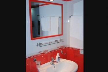 Hotel Osumi: Badezimmer BERAT