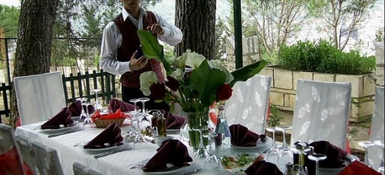 Hotel Castle Park: Garten BERAT