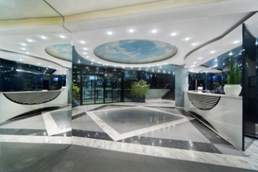 Hotel Una: Lobby BERGAME