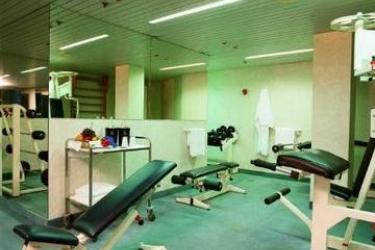 Hotel Una: Salle de Gym BERGAME