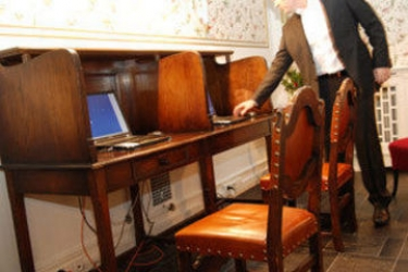 Hotel Grand Terminus: Internet Point BERGEN