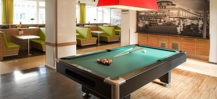 Hotel Aletto Kudamm: Billiards BERLIN