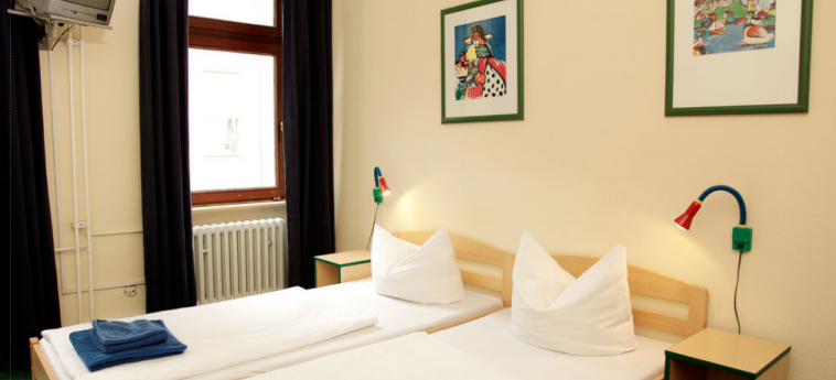 Acama Schoneberg – Hotel+Hostel: Habitación BERLIN
