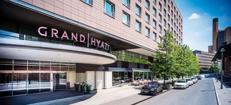 Hotel Grand Hyatt Berlin: Esterno BERLINO