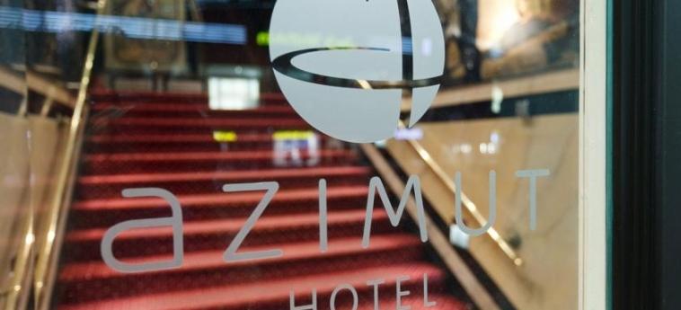 Azimut Hotel Kurfuerstendamm Berlin: Entrata BERLINO