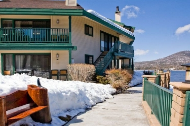 Hotel Lagonita Lodge: Exterieur BIG BEAR LAKE (CA)