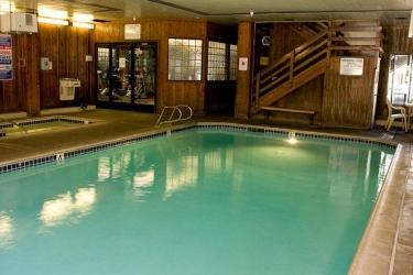 Hotel Lagonita Lodge: Piscine Couverte BIG BEAR LAKE (CA)